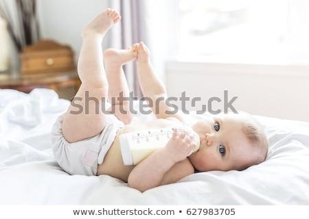 baby sucking bottle Stock photo © IS2