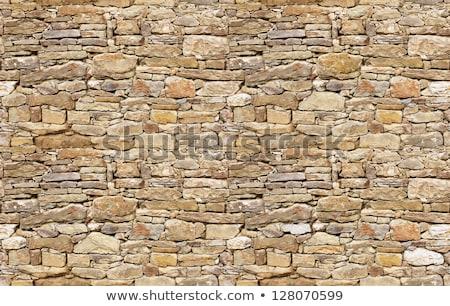 Foto stock: Parede · grande · pedras · textura · construção · natureza