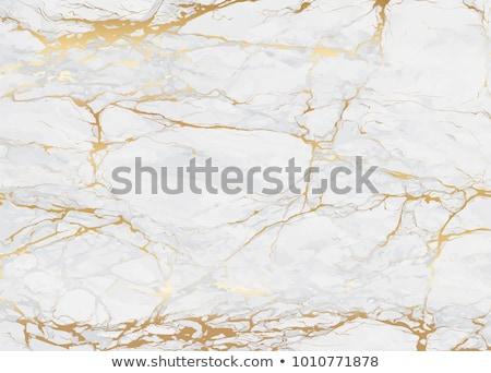 Fehér arany márvány textúra háttér padló Stock fotó © SArts