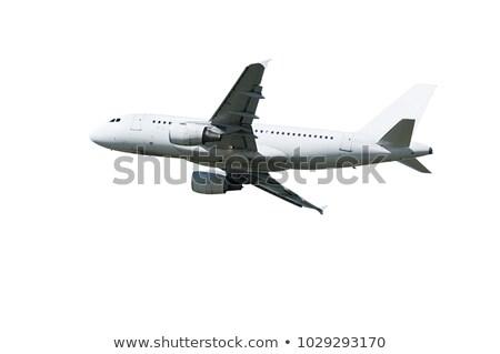современных · плоскости · изображение · самолет · изолированный · белый - Сток-фото © bluering