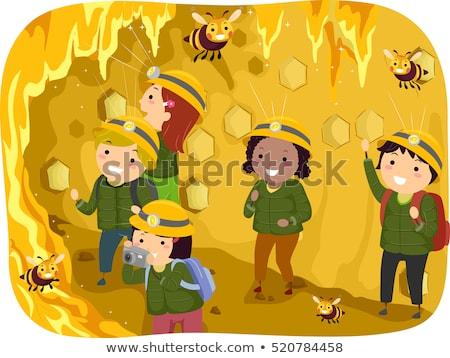 子供 ツアー 蜂の巣 実例 グループ 幼稚園 ストックフォト © lenm