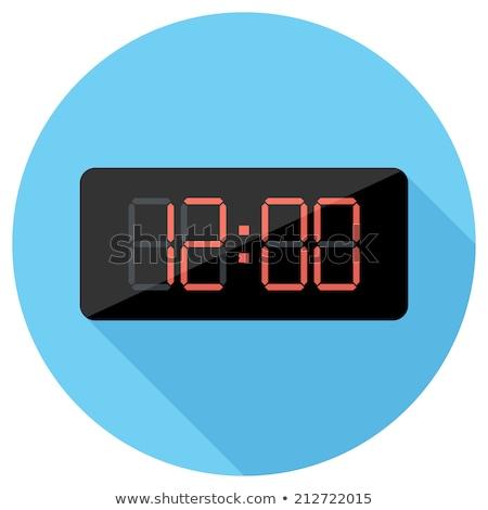 Cuenta atrás temporizador sitio web elemento botones digital Foto stock © Zoa-Arts