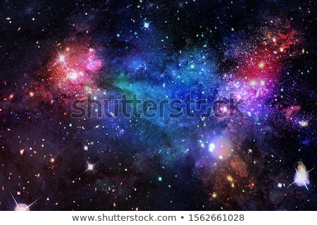 nebula galaxy and stars elements of this image furnished by nasa stock photo © nasa_images