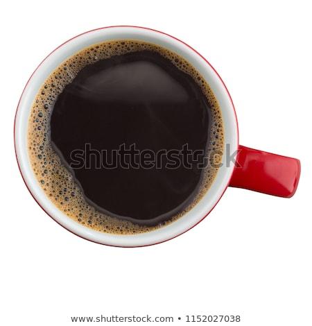 Top view of mug with coffee Stock photo © dash