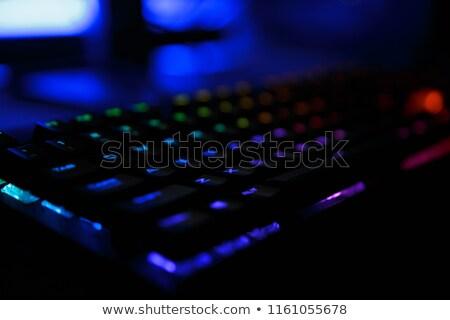 ключами · http · знак · черный · клавиатура - Сток-фото © deandrobot