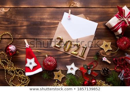 Clothespin list odizolowany biały obiektu Zdjęcia stock © boggy