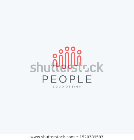 people logo icon design element vector teamwork Stock photo © blaskorizov