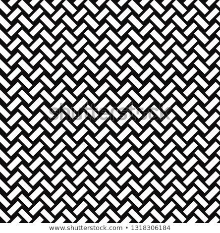 Mattone ornamento diagonale line texture Foto d'archivio © Terriana