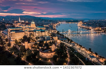Historic Architecture in Budapest Stock photo © Spectral