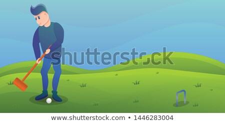 ゴルフ · 異なる · スポーツ - ストックフォト © robuart