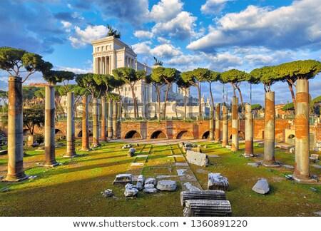 ローマ · 町役場 · ローマ · イタリア · 像 - ストックフォト © andreypopov