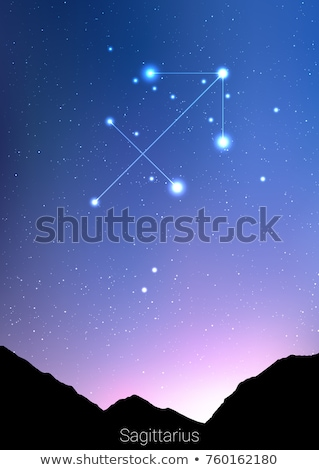 Sagome zodiaco star segni isolato bianco Foto d'archivio © cidepix