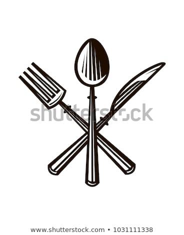 tafelgerei · illustratie · verschillend · monster · tekst · textuur - stockfoto © pikepicture