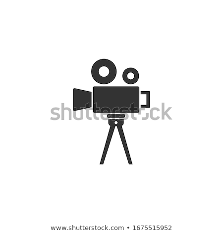 Filmstrip For Cinema Projector Color Vector Stock photo © pikepicture