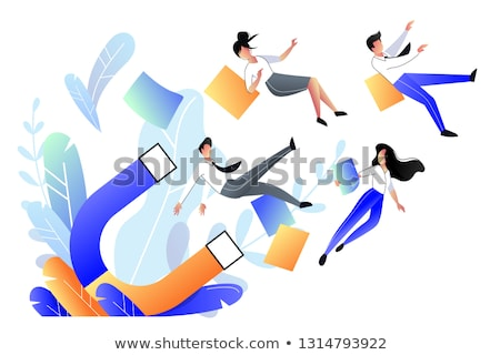 Customers attraction vector concept metaphor. Stock photo © RAStudio