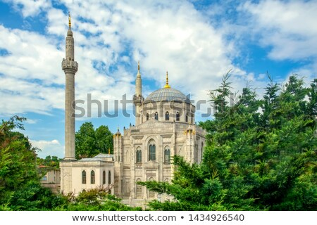 Cami İstanbul Türkiye görmek ibadet mimari Stok fotoğraf © boggy
