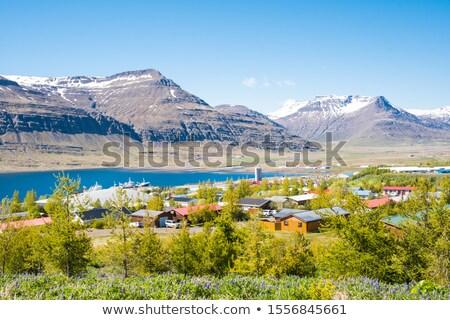 Islândia ver montanhas europa dente perdido Foto stock © broker