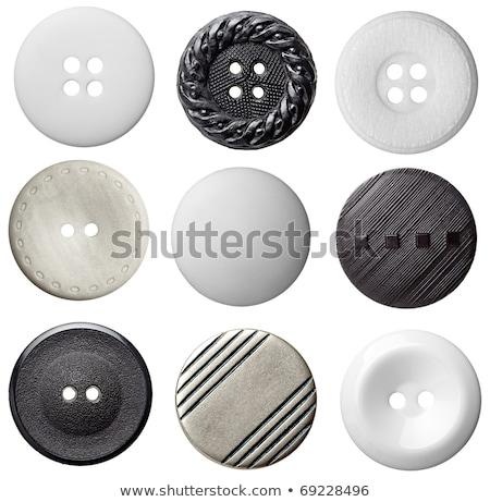 Stockfoto: Knoppen · geïsoleerd · witte · mode · abstract · ontwerp