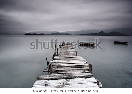 desolate pier Stock photo © leungchopan