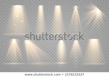 スポットライト 詳細 照明 背景 煙 1泊 ストックフォト © carloscastilla