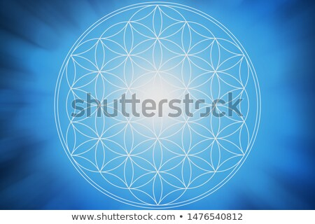 Flower of life background stock photo © Losswen