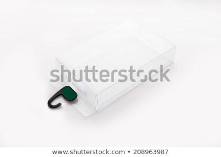 Produit boîte propre 3D parfait logiciels Photo stock © axstokes