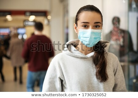 Young woman dusting Stock photo © photography33