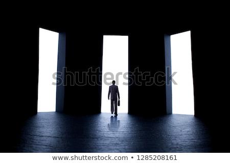 personne · difficile · choix · une · trois - photo stock © texelart