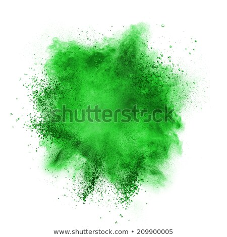 toxic green color clouds Stock photo © prill