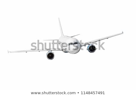 The fuselage of the aircraft and two engines Stock photo © Pruser