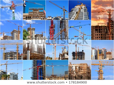 Construction works collage Stock photo © photography33