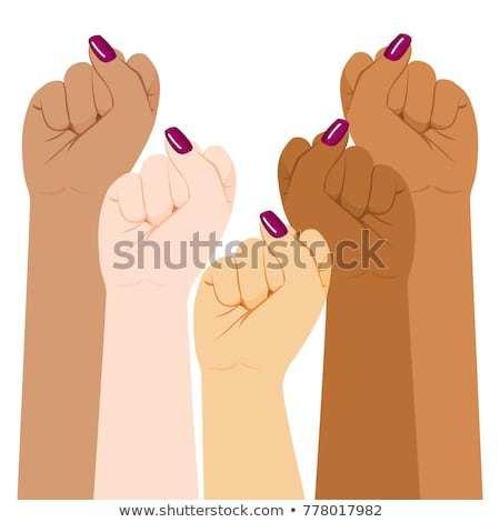 Female fist Stock photo © Taigi