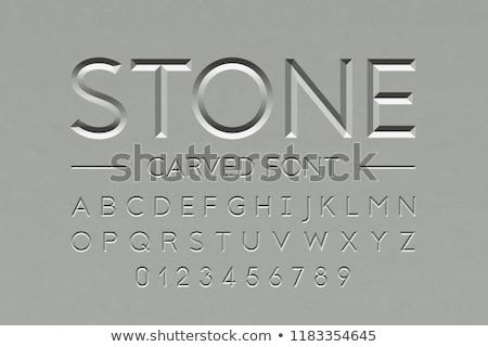 Carved stone Stock photo © Witthaya
