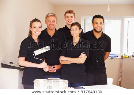 portrait of a team of painters stock photo © photography33