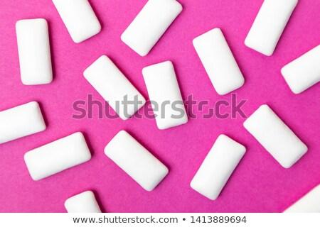 Eating pink gums Stock photo © iko