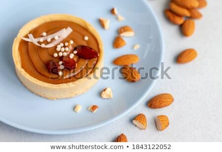 Nougat Caramel Tarts Stock photo © zhekos