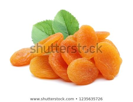 Dulce dos frutas hoja naranja blanco Foto stock © Masha