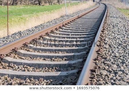 track ballast Stock photo © mtkang