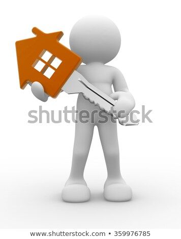 3D People house for rent Stock photo © Quka