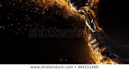 goblet of fire Stock photo © kyolshin