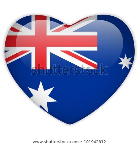 liefde · Australië · illustratie · teken · gezegde · kaart - stockfoto © gubh83