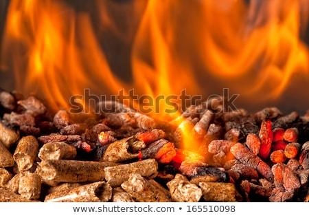 madeira · extremo · fogo · energia - foto stock © rmarinello