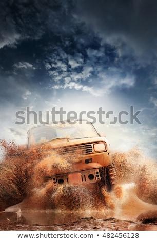 mud dirty road Stock photo © Mikko
