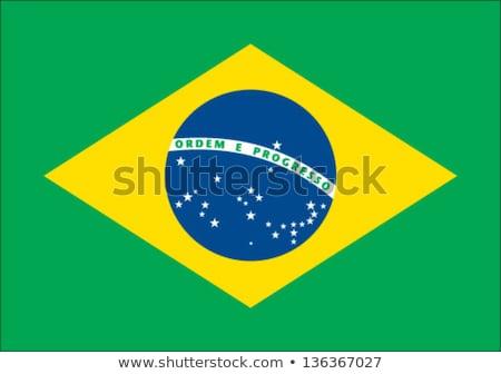 Рио-де-Жанейро · Бразилия · флаг · высушите · земле · землю - Сток-фото © marinini