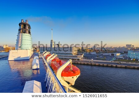 Gyönyörű hajóút vakáció csónak Miami belváros Stock fotó © lunamarina