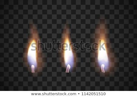 convinzione · candela · macro · bible · foto · oro - foto d'archivio © pruser