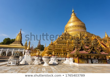 Buddhist temple spire Stock photo © smithore