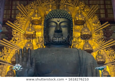 ストックフォト: 仏 · 手 · 寺 · タイ