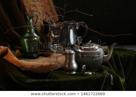 カップ · コーヒー · ペストリー · 黒 · 食品 - ストックフォト © zhekos