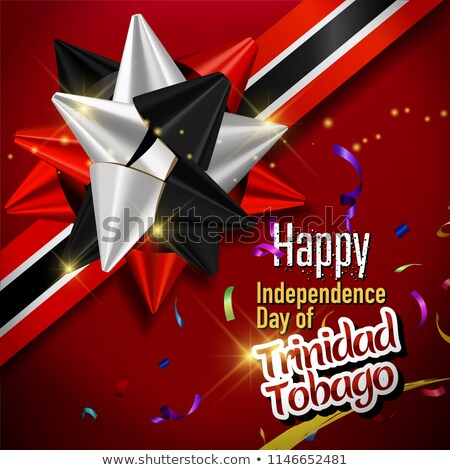 Balloon colored in  national flag of trinidad tobago    Stock photo © vepar5